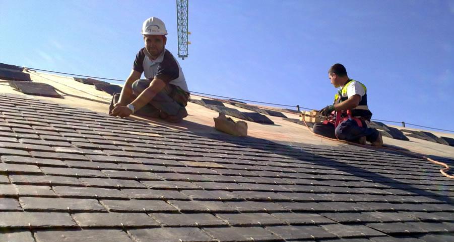 Cuando hay que hacer mantenimiento a un tejado
