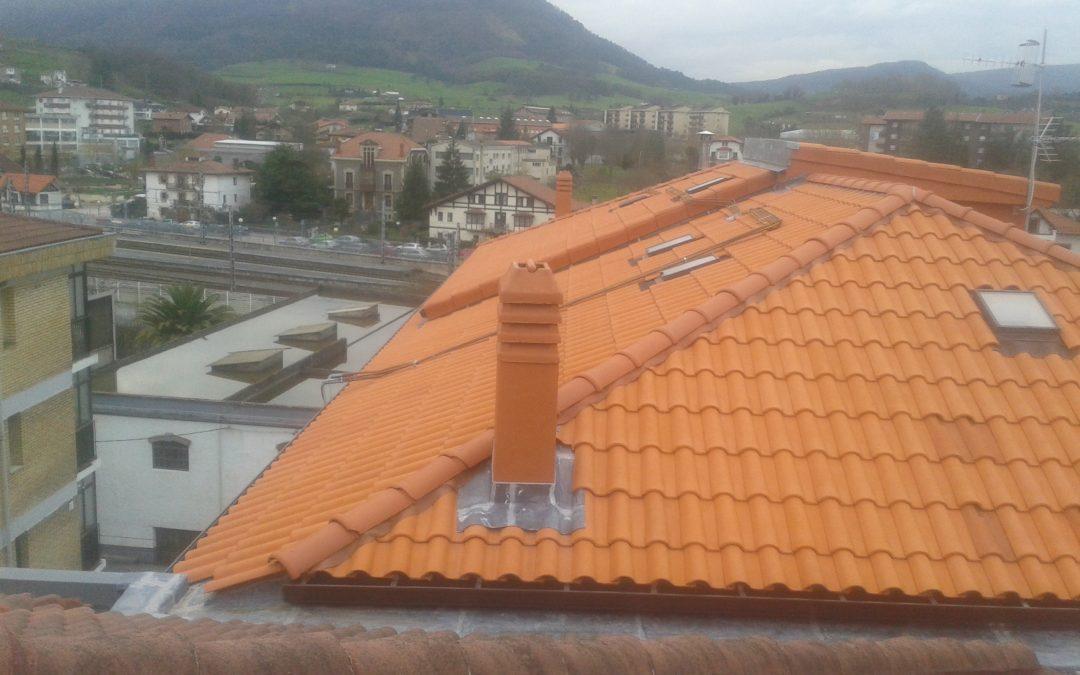 Mantenimiento y reparación de tejado en Amurrio