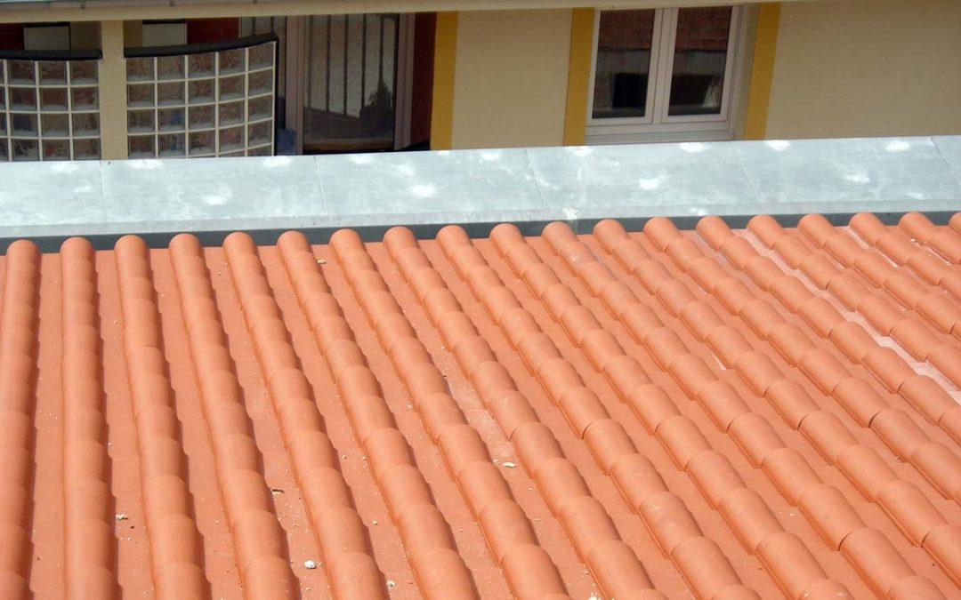 Tejado de obra nueva en Gordejuela